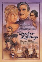 Framed Doctor Zhivago Drawing