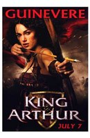 Framed King Arthur - Guinevere