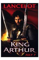 Framed King Arthur - Lancelot