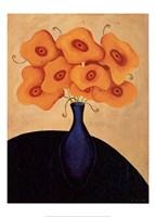 Framed Bouquet Dor