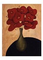Framed Bouquet Rouge