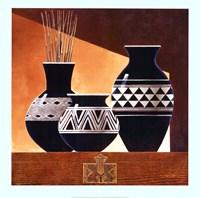 Framed Patterns in Ebony II