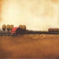 Framed Rural Landscape II