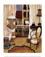 Framed French Boudoir I