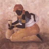 Framed Maternal Devotion