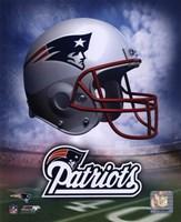 Framed New England Patriots Helmet Logo
