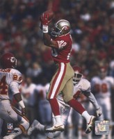 Framed Jerry Rice - Leaping Catch
