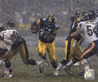Framed Jerome Bettis - '05 / '06 Action ( In The Snow)