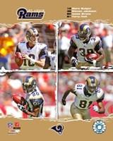 "Framed 2006 - Rams ""Big 4"""