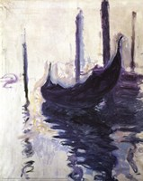 Framed Gondolas in Venice, c.1910