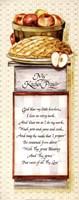 Framed My Kitchen Prayer