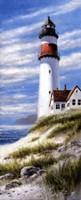 Framed Lighthouse On Cliff
