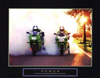 Framed Power - Motorcycles
