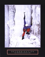Framed Determination - Ice Climber