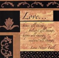 Framed Words To Live By, BlackgoldLove