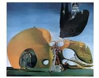 Framed Birth of Liquid Desires, c.1932