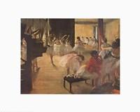 Framed Ballet School, c. 1874