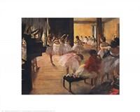 Framed Ballet School, c. 1876