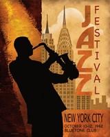 Framed 1962 Jazz in New York