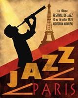 Framed 1970 Jazz in Paris