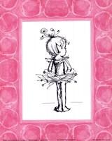 Framed Tiny Ballerina