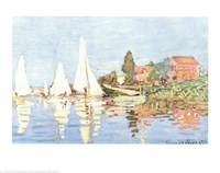 Framed Boating at Argenteuil
