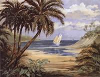 Framed Palm Bay - mini
