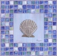 Framed Mosaic Scallop