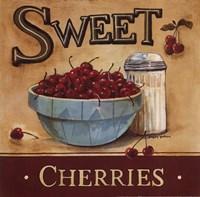 Framed Sweet Cherries
