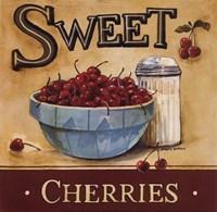 Framed Sweet Cherries - Mini