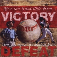 Framed Victory - Baseball