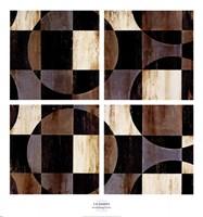 Framed Interlocking Circles
