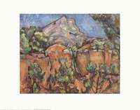 Framed Mount Sainte-Victorie, c.1904