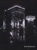 Framed Paris Rendevous