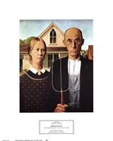 Framed American Gothic, c.1930