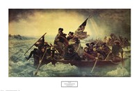 Framed Washington Crossing the Delaware, c.1851