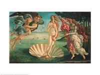 Framed Birth of Venus