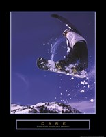 Framed Dare - Snowboarder