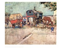 Framed Gypsy Caravan