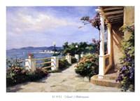 Framed French Mediterranean