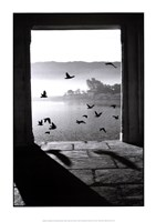 Framed Lake of Pushkar