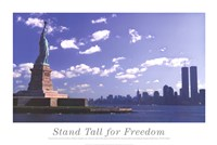 Framed Stand Tall for Freedom