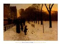 Framed Boston Common at Twilight, 1885-86