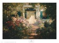 Framed Doorway and Garden