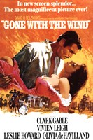 Framed Gone with the Wind - Orange