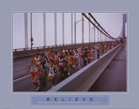 Framed Believe - Marathon Runners
