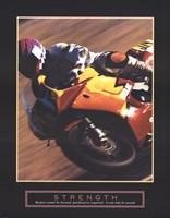 Framed Strength - Motorbiker