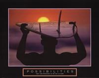 Framed Possibilities - Surfer