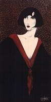 Framed Red Collar