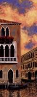 Framed Venice Sunset II
